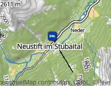 Map: Sporthotel Neustift