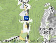 Map: Posthotel Achenkirch