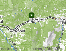 Map: Brixen im Thale