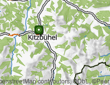 Map: Kitzbühel