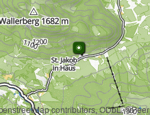 Map: St. Jakob in Haus