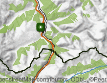 Map: Gries am Brenner