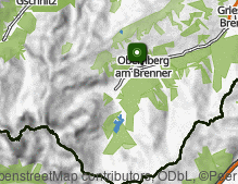 Map: Obernberg am Brenner