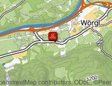 Map: WAVE - Wörgler Wasserwelt / WAVE - mondo acquatico di Wörgl