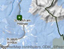 Map: St. Ulrich am Pillersee