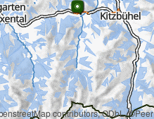 Map: Kirchberg in Tirol