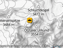 Map: Wildspitze / Wildspitze