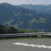 Auf der Panoramastraße Kitzbüheler Horn